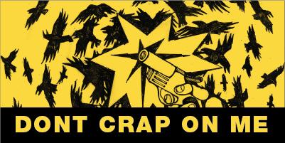 Dont Crap on Me, illustration by Sasha-K