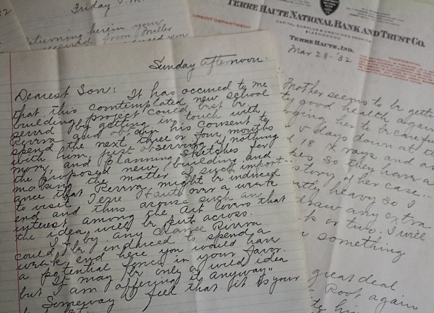 Letters from G.Wilson's Father, Wilton Wilson