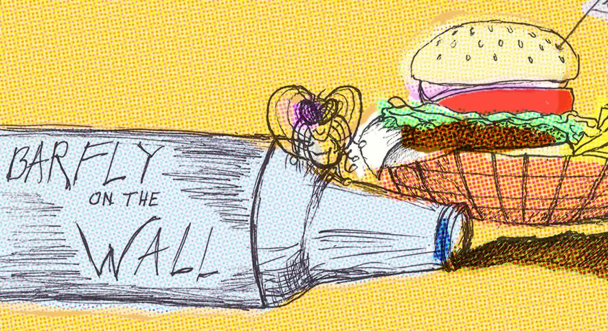 Barfly-on-the-Wall-Charlies. illustration: C.Daum